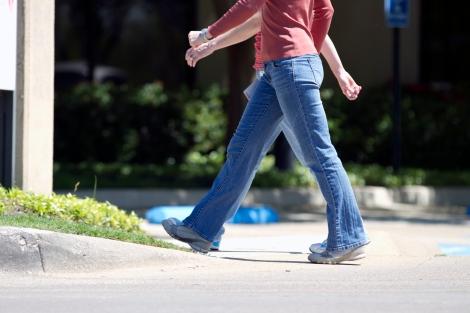Caminar.,